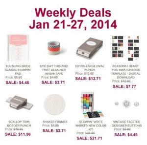 weekly dealspg