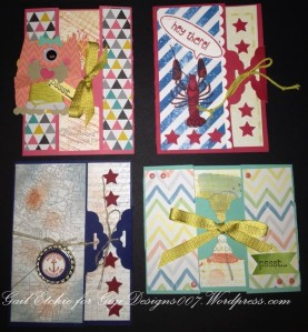 Scalloped Punch Tag Cards